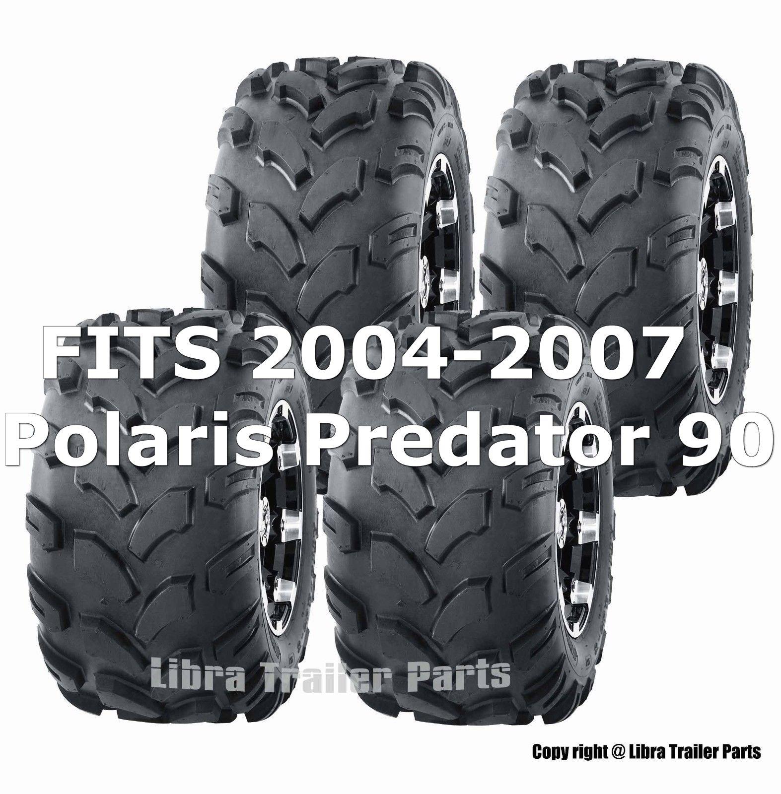 2004-2007 Polaris Predator 90 Sport ATV tires 19x7-8 19x7x8 & 18x9.5-8 18x9.5x8