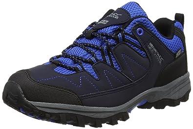 Chaussure de marche Regatta Holcombe Low Jnr Shoe Steel Tulip-Taille 33 WIJNB4H18w