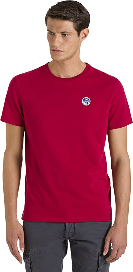 NORTH SAILS S/S Bollo Camiseta para Hombre