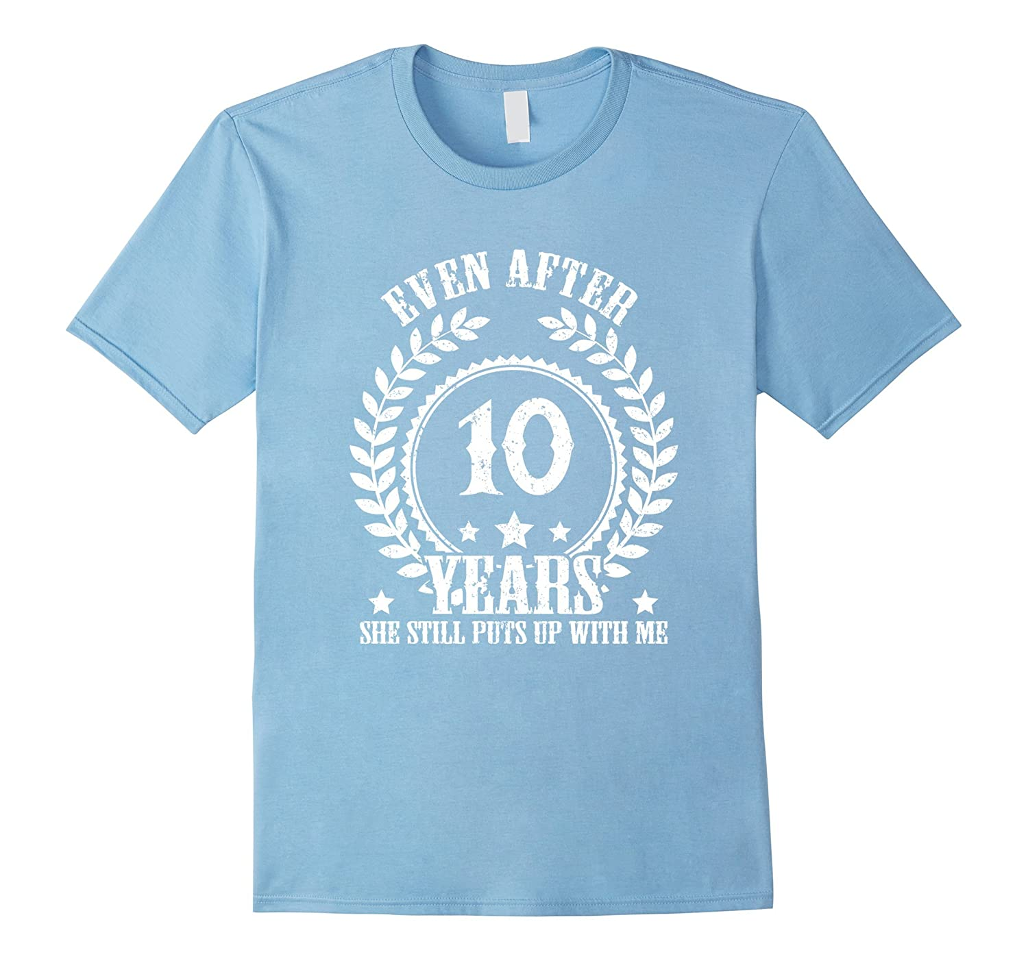 Men's 10 Years Anniversary Gifts - Funny Anniversary Gifts For Him-Art