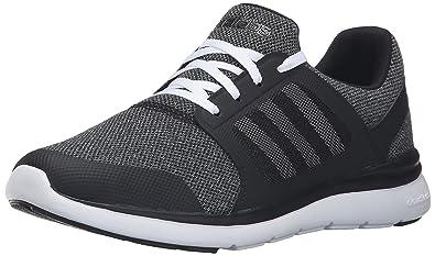 adidas Performance Women's Cloudfoam Xpression w Cross Trainer Shoe, Black WhiteOnix