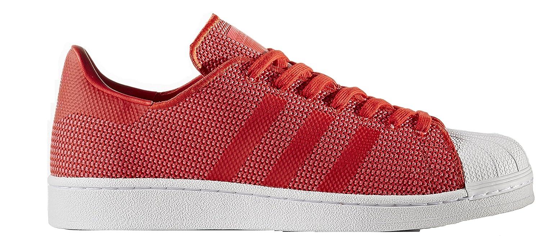 adidas Originals Men's Superstar Shoes B07D1RGQY4 8 D(M) US|Red / Core Pink /Ftwwht