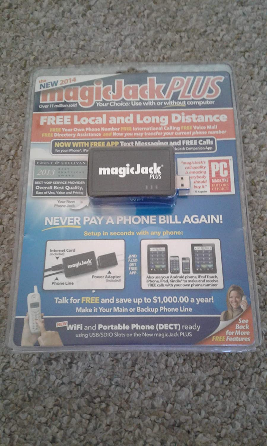 magicJack S1013 VoIP USB Adapter Phone and Device: Amazon ca