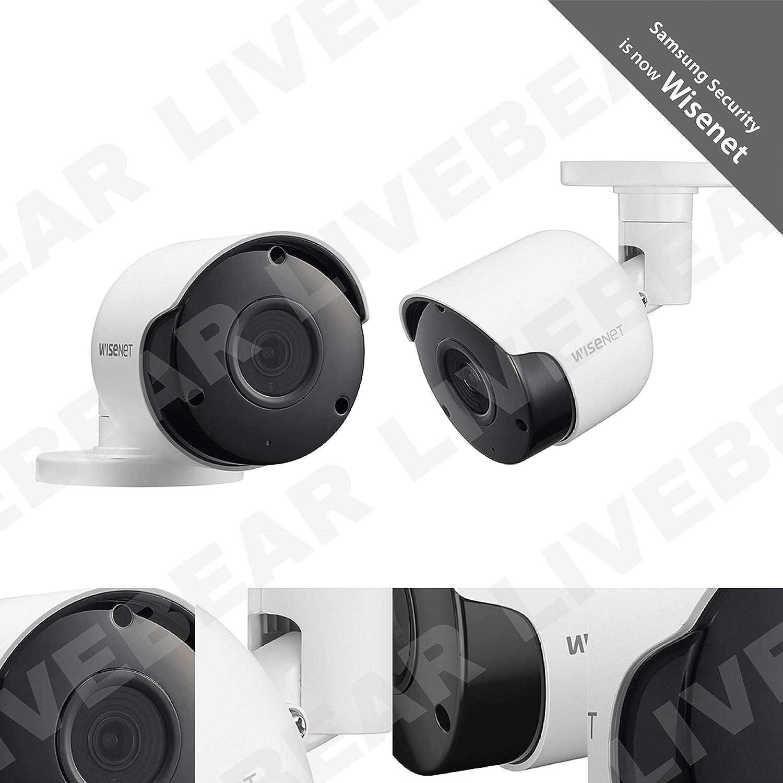 Wisenet SDC-89445BF-4PK – 5MP Super HD Weatherproof Bullet Camera 4 Pack