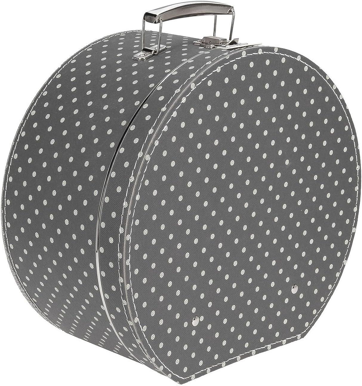 Lierys Caja Sombrero Lunares Mujer - Made in The EU para sombrerera complementos Verano/Invierno