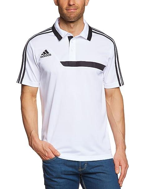 Adidas Tiro 13 climalite - Camiseta de fútbol sala para hombre, tamaño M, color blanco/blanco: Amazon.es: Ropa y accesorios