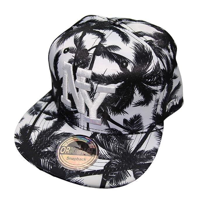 Premium Headwear Gorra con diseño de Nueva York. Hawai Black Talla ...