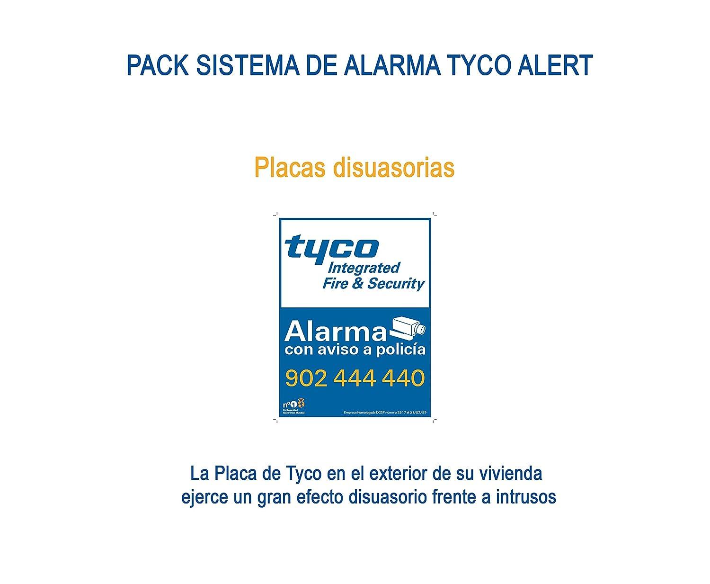 Tyco 1B07D0 Sistema de Alarma, Set de 7 Piezas: Amazon.es ...