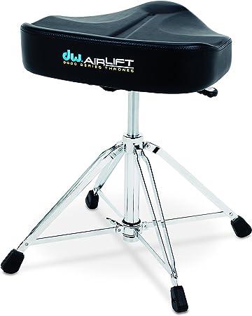Drum Workshop CP9100AL 9000 Series Heavy Duty Air-lift Throne w//Round Seat