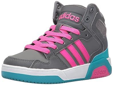 premium selection 8de14 6be70 adidas Girls  BB9TIS MID K Sneaker, Four Shock Pink Grey Five,