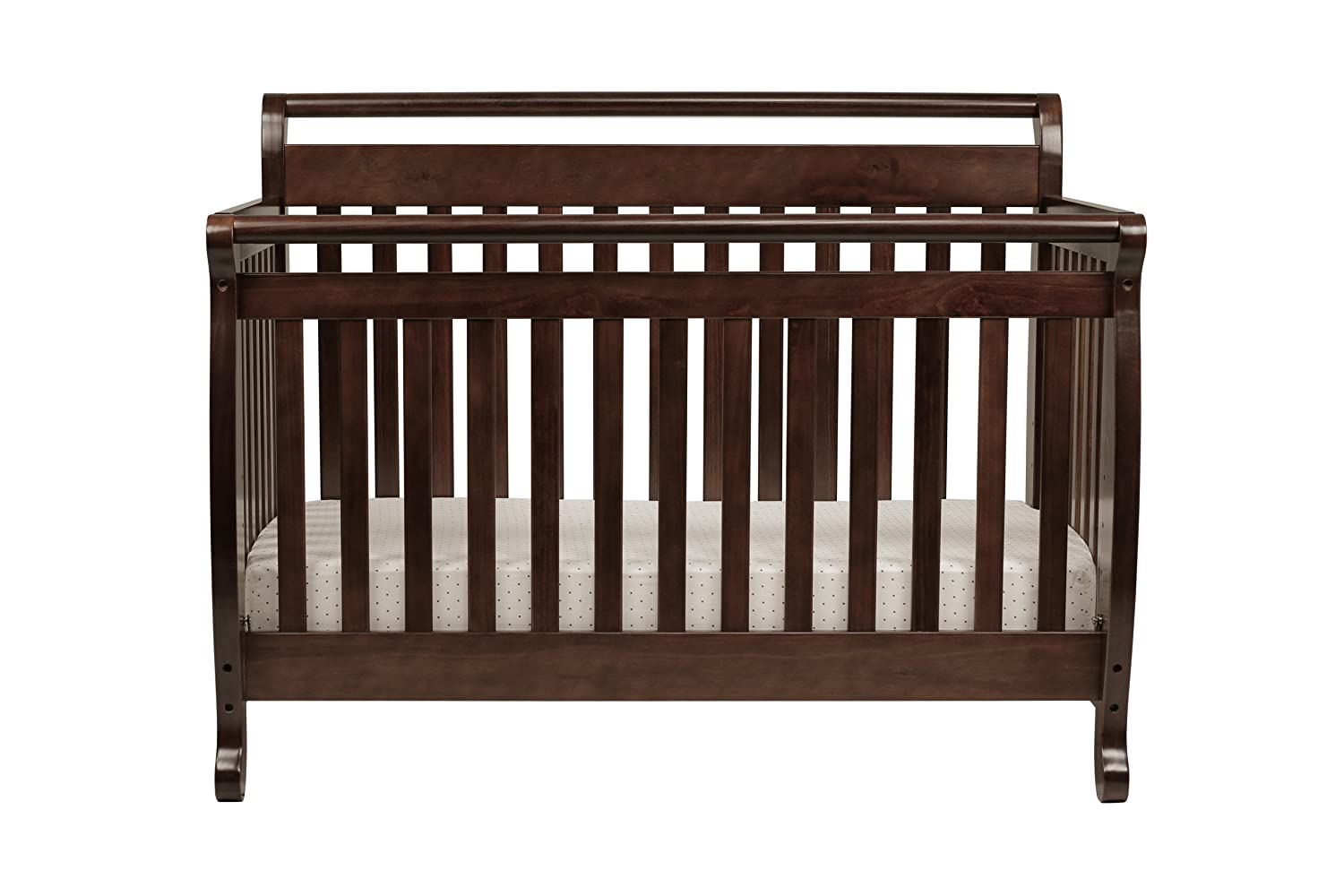 crib cribs davinci thedigitalhandshake guideline converts that toddler in with kalani wooden convertible rail to bed