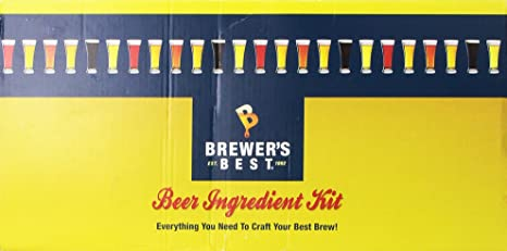 Brewer's Best 1025 Whisky Barrel Stout Package (Premium) Home Brew  Ingredient Kit, 5 gallon, Multi-color