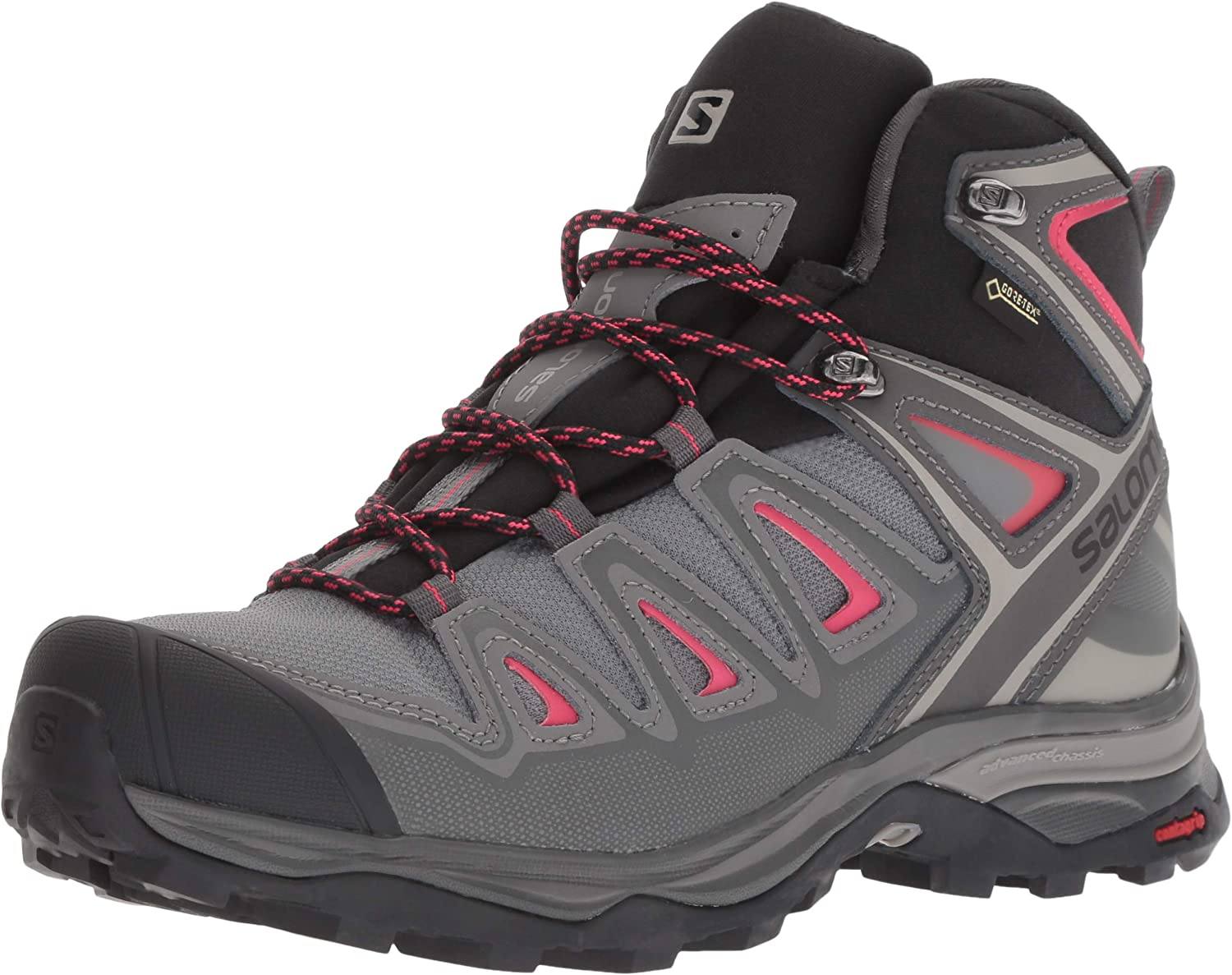 Details about Salomon XUltra 3 Prime GTX Womens Walking Shoes Trainers Black Ladies Footwear