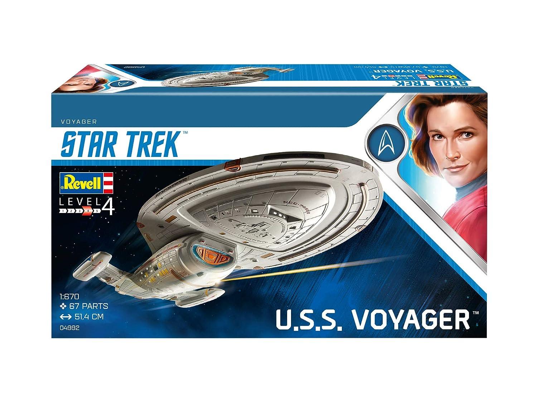 Escala 1:670 Kit de Modelos de pl/ástico 1//670 Revell- U.S.S Voyager 04992//4992