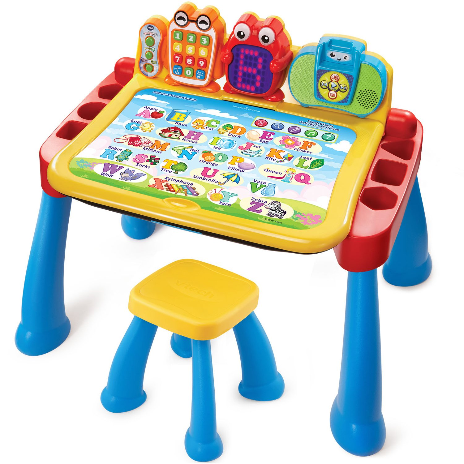 amazoncom vtech touch and learn activity desk deluxe toys  games -
