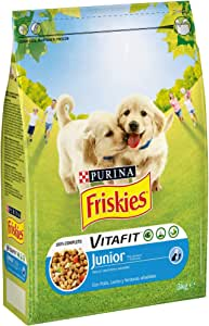 Purina Friskies Vitafit Pienso para Perro Junior Pollo 3