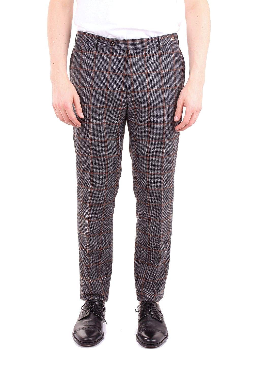 Brand Size 50 TAGLIATORE Men's TAG0112WIZ207GREY Grey Wool Pants