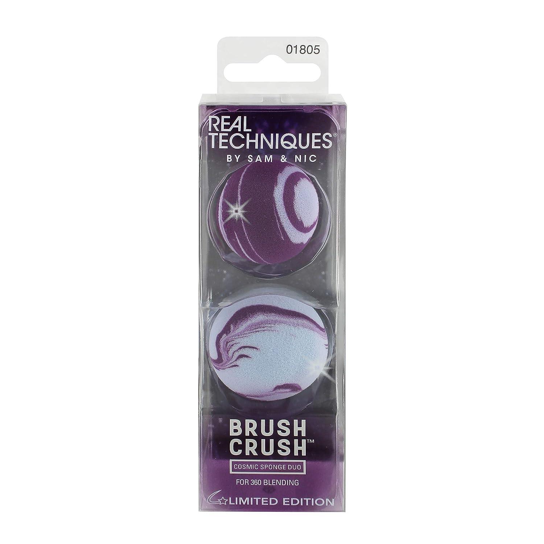 Real Techniques Pinsel Crush Cosmic Make-up Schwamm, Duo Paris Presents Inc 1805M