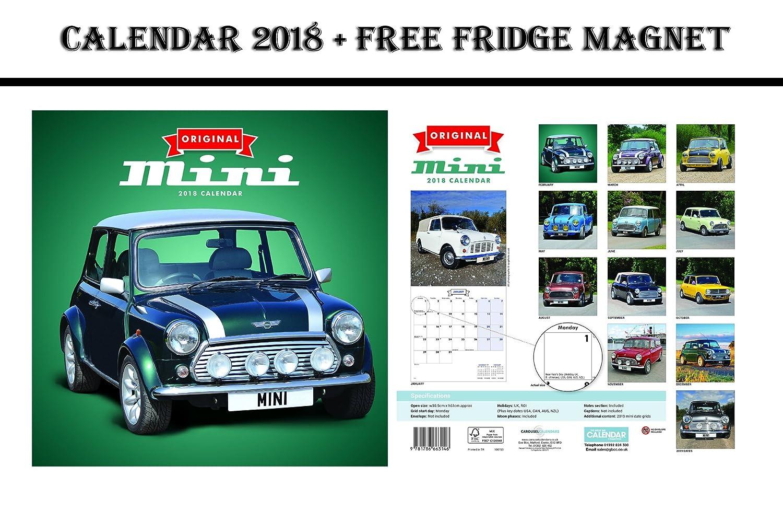 Original Mini oficial calendario 2018 + potencia máxima de coche ...