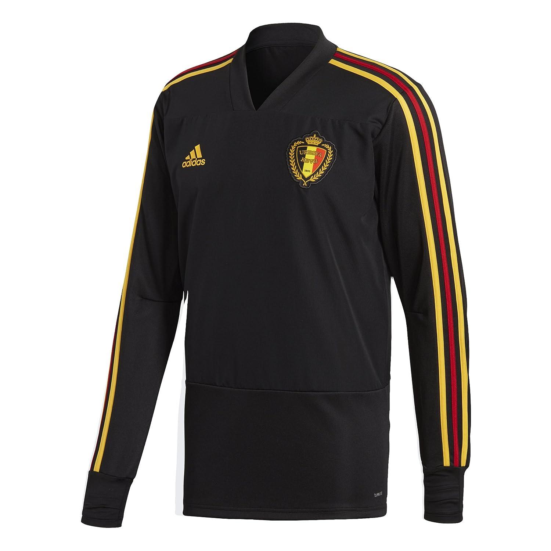 Adidas Herren Belgien Trainingsoberteil, schwarz Bogold, 2XL