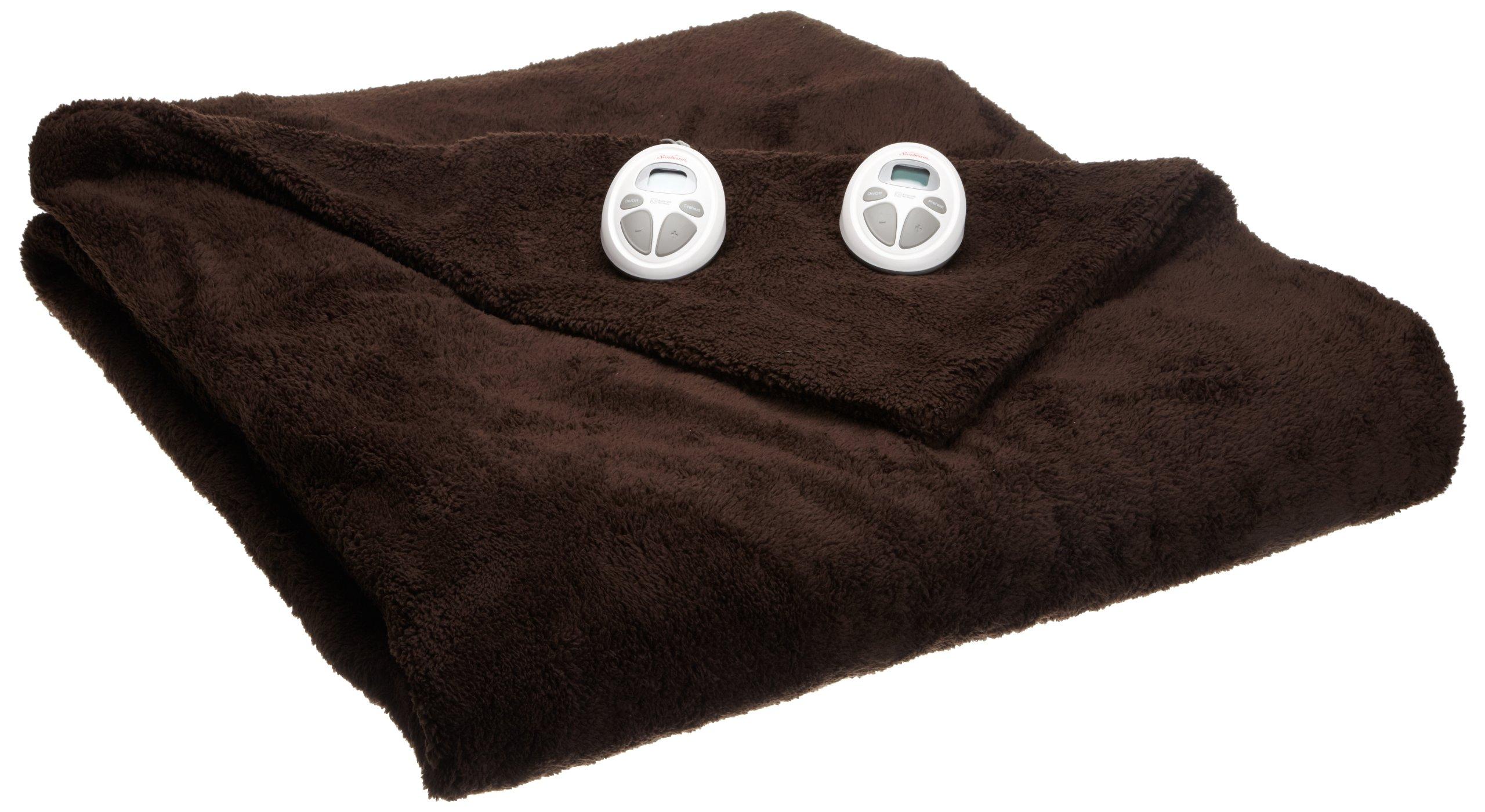 Sunbeam LoftTech Heated Blanket, Queen, Walnut, BSL8CQS-R470-16A00