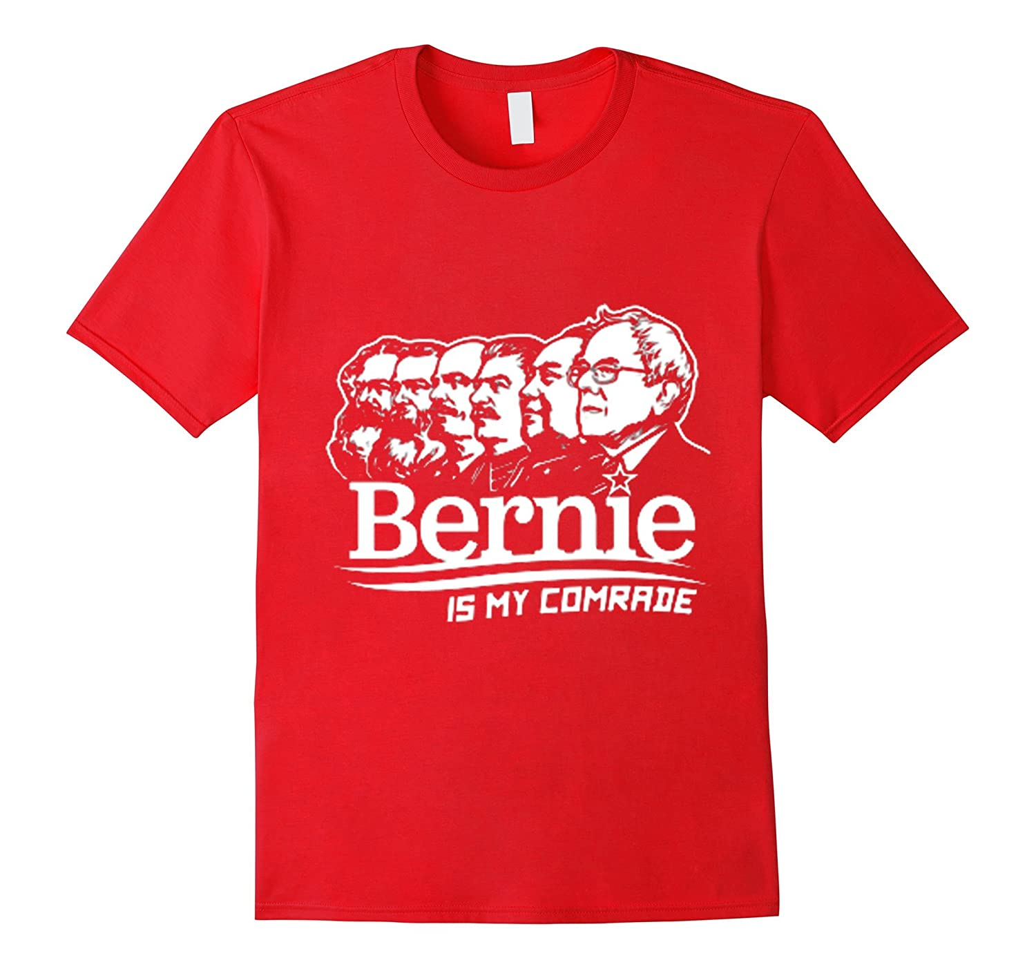 BERNIE SANDERS IS MY COMRADE T-SHIRT CUSTOM-BN
