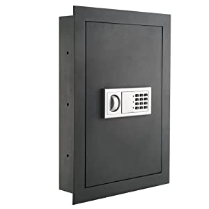 7725 Flat Electronic Wall Safe For Jewelry Security - Paragon Lock & Safe