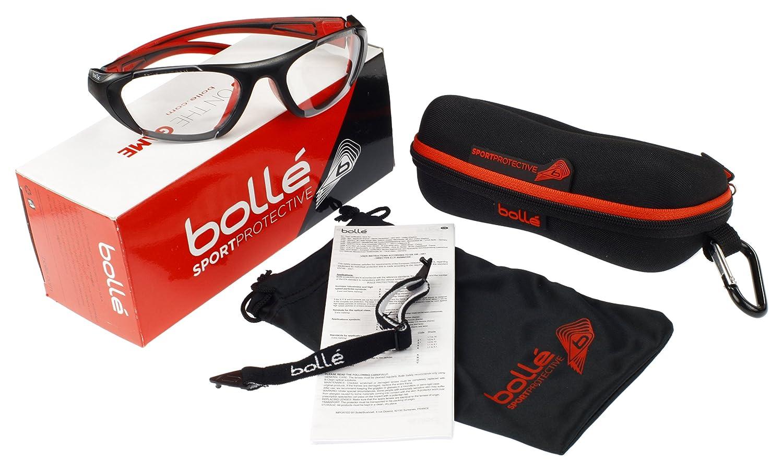 8b4c8809af Bollé Lunettes de soleil de sport à boule de protection pour le Football,  Squash, Badminton-ASTMF803 cahier des charges.: Amazon.fr: Sports et Loisirs