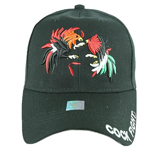 fab63189b4518 90210 Wholesale Baseball Cap Cock Fight Rooster Caps Adjustable Plain Hats  Fashion Hats (Black)