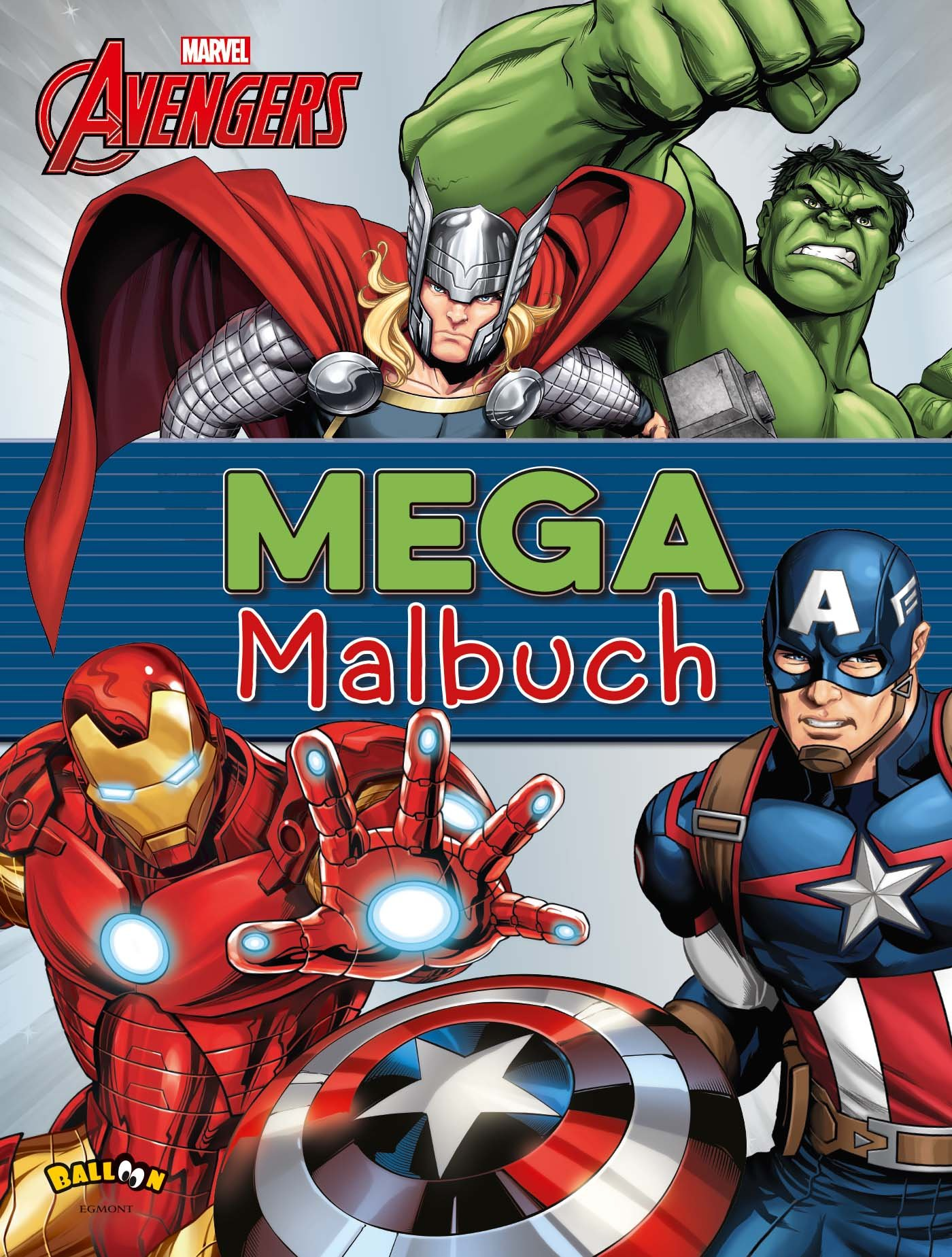 The Avengers - Mega-Malbuch: Amazon.de: Bücher