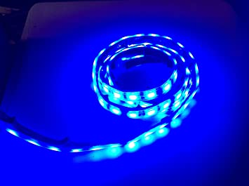 Amazon marine submersible led light strip 12v 4ft blue led marine submersible led light strip 12v 4ft blue led rope lights waterproof led lights aloadofball Images