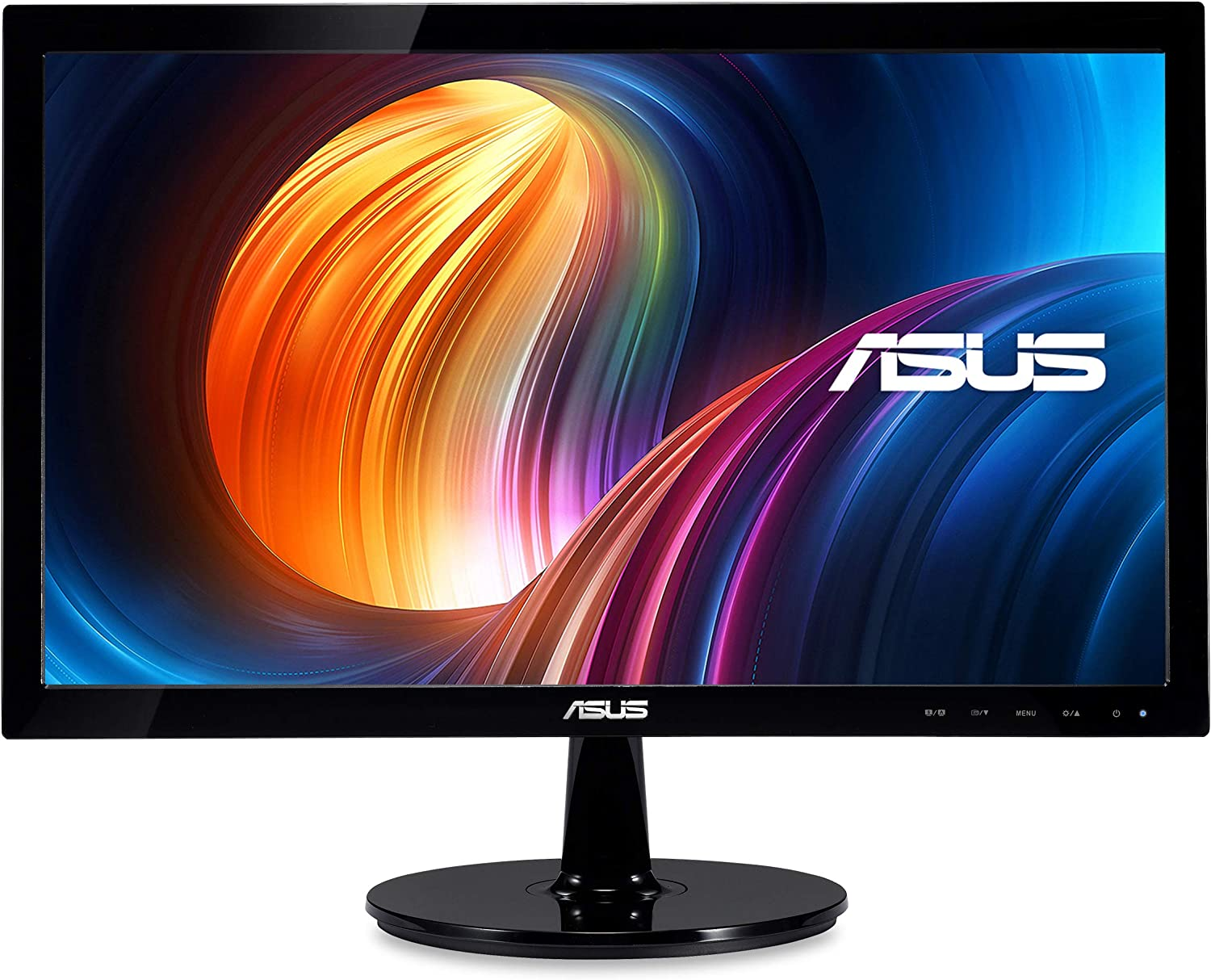 "ASUS VS207T-P 19.5"" HD+ 1600x900 DVI VGA Back-lit LED Monitor,Black"