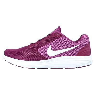 new product a4703 7fa43 Nike Performance Wmns Revolution 3 Damen Laufschuhe Übergrößen Lila, Größe 43