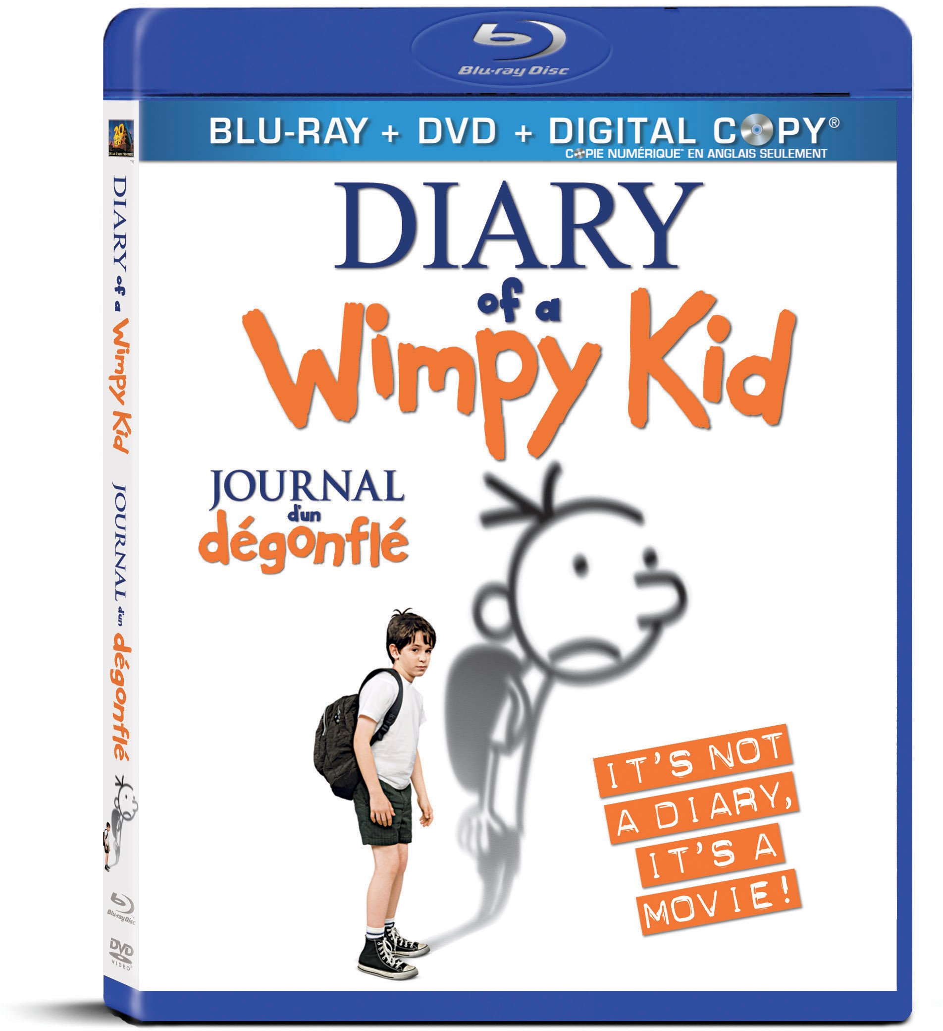 Blu-ray : Diary Of A Wimpy Kid