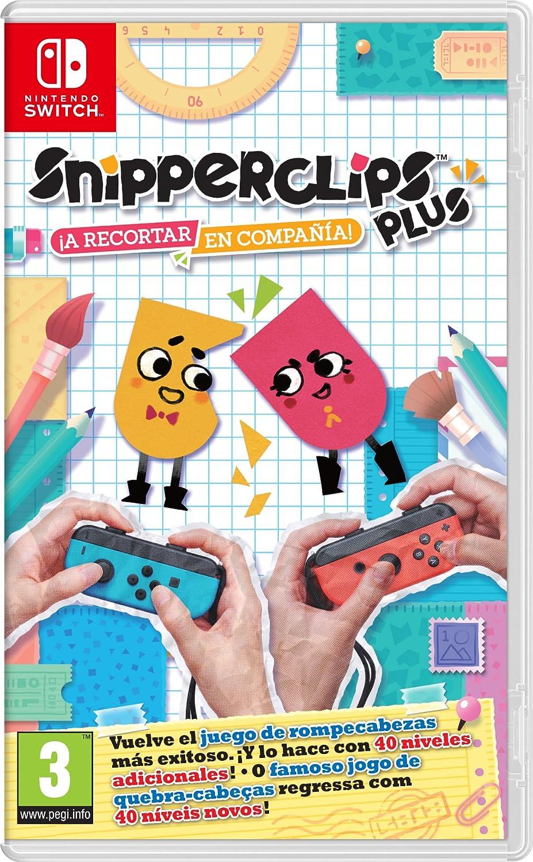 Snipperclips Plus: ¡A Recortar En Compañía!: Amazon.es: Videojuegos