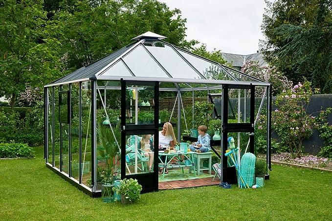 Juliana Oasis - Invernadero de policarbonato (25, 4 x 25, 4 cm): Amazon.es: Jardín