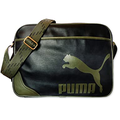 60196700d9 Puma Sac bandoulière Originals Reporter PU, 40 cm, black-grape: Amazon.fr:  Bagages
