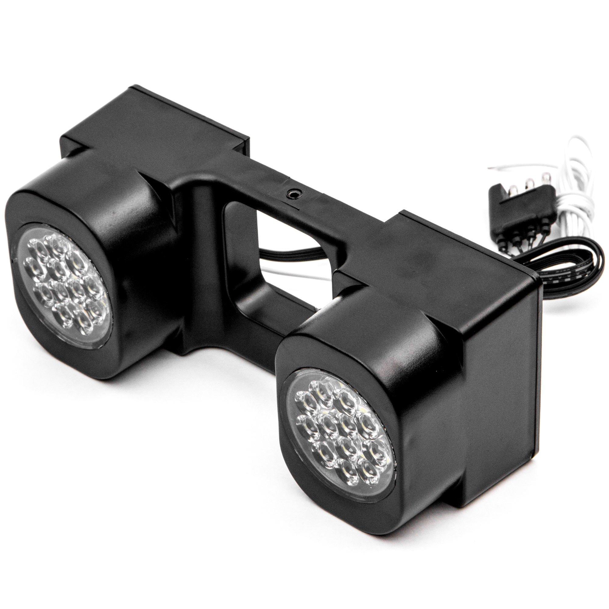 Krator LED Hitch Light Brake Reverse Signal Light for Trucks Trailer SUV 2'' Receiver for Honda CR-V Element HR-V Pilot Ridgeline