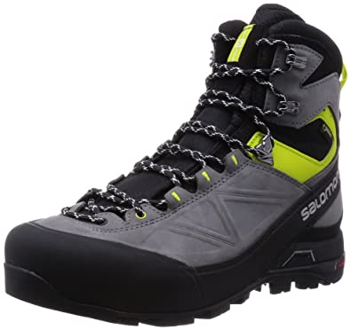 Salomon X ALP MTN GTX M - Black / Pearl Grey / Gecko Green - UK