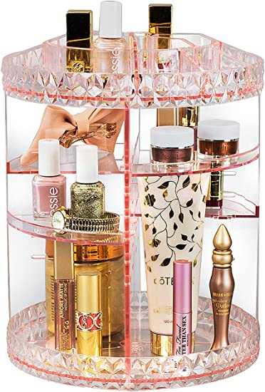 Amazon.com: Sorbus Organizador de Maquillaje giratorio 360 ...