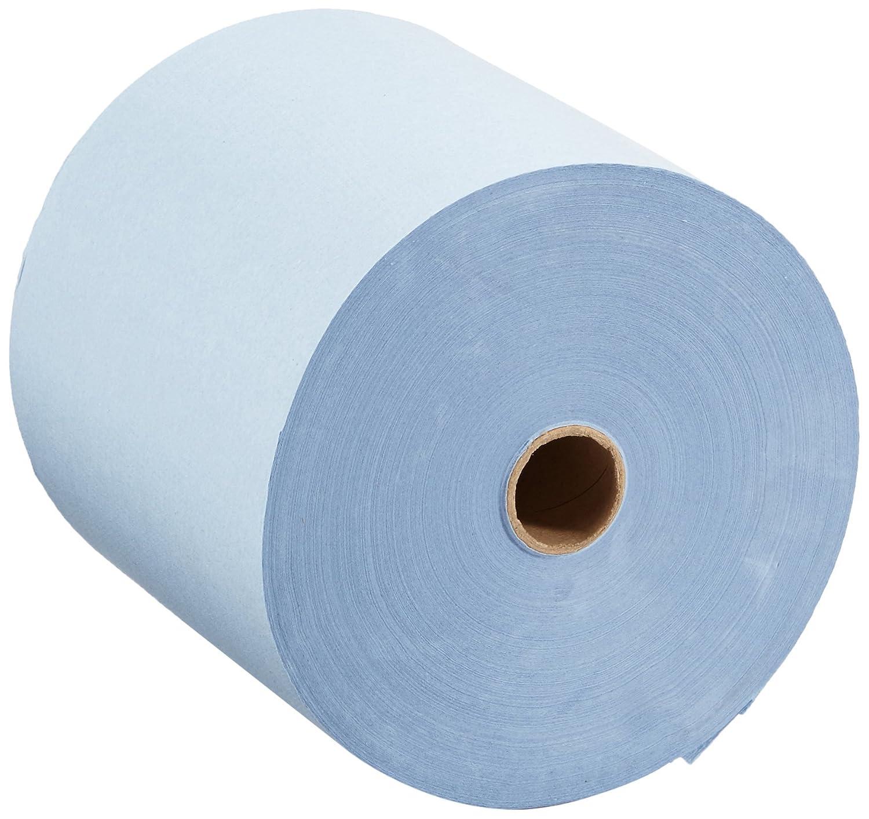 SCOTT* Toallas Secamanos en Rollo 6668 - 6 rollos x 304 m de color azul y 1 capa: Amazon.es: Industria, empresas y ciencia