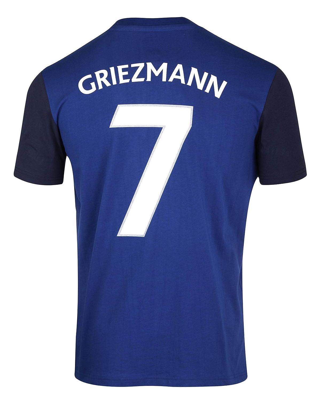 Shirt FFF–Antoine griezmann–Offizielle Kollektion Equipe de France Fußball–Größe Erwachsene Herren