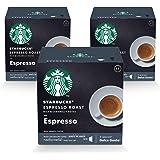 STARBUCKS Espresso Roast by NESCAFÉ Dolce Gusto Dark Coffee (3X12 Capsules)