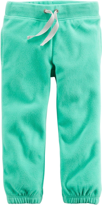 Carters Baby Girl Fleece Active Pants Green 6m