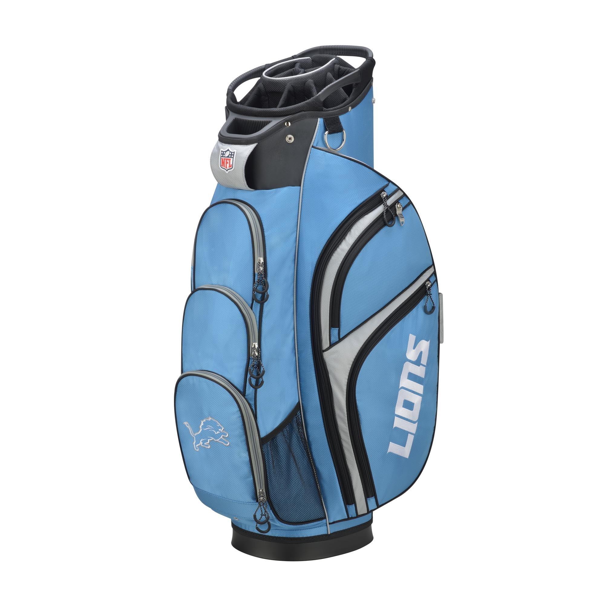 Wilson 2018 NFL Golf Cart Bag, Detroit Lions