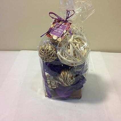 Amazon Jodhpuri Inc Decorative Spheres Purple Rattan Vase Gorgeous Purple Decorative Balls