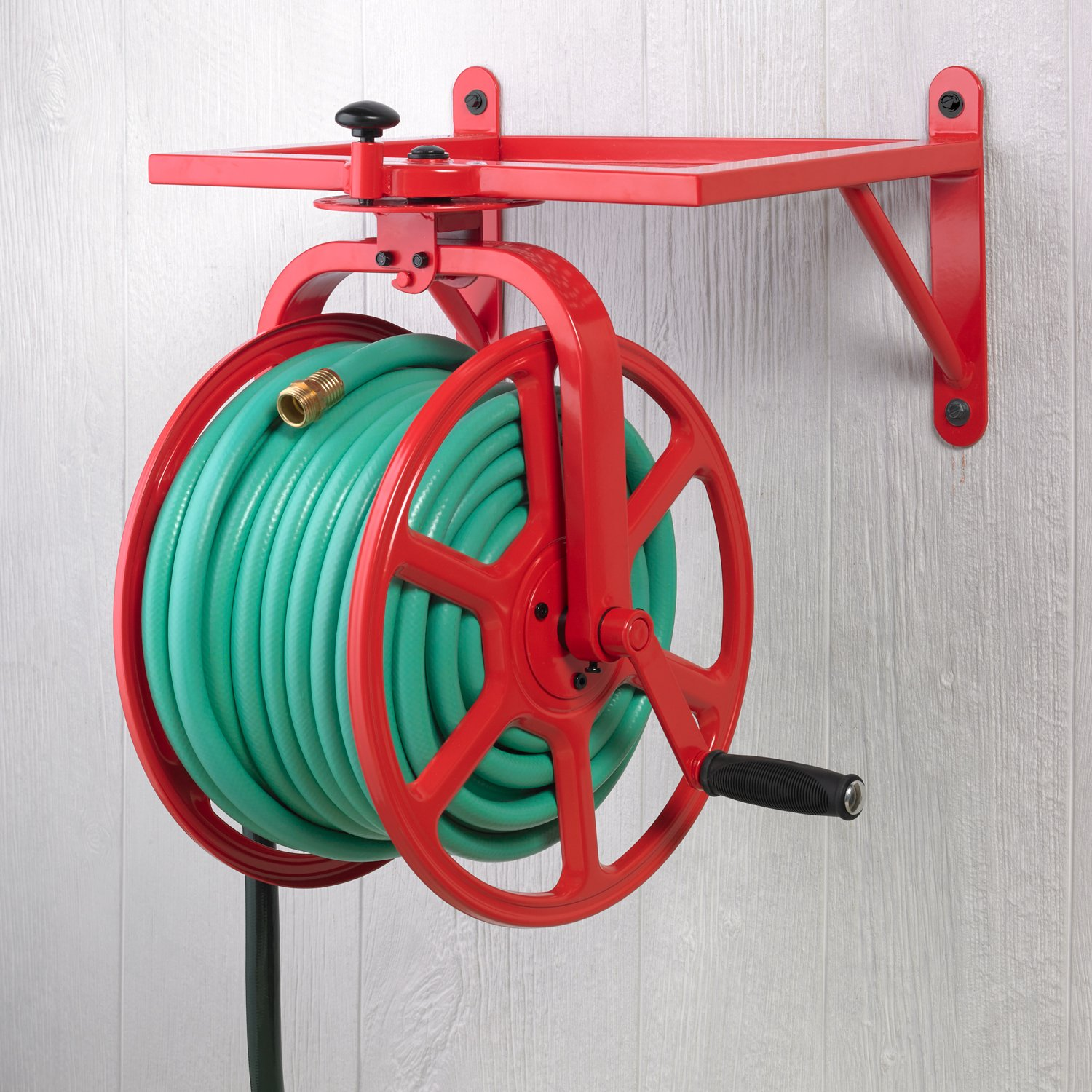 Merveilleux Liberty Garden 713 Revolution Multi Directional Hose Reel, Red: Amazon.ca:  Patio, Lawn U0026 Garden