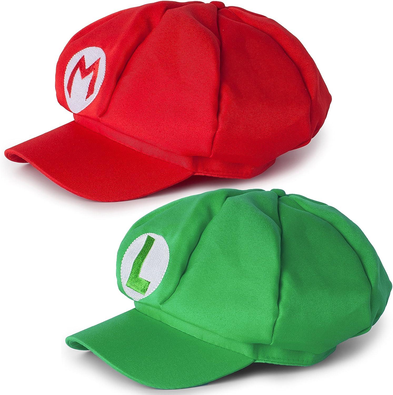 Katara Disfraz Super Mario Bros Niños / Adultos, Juego de 2 Gorras ...