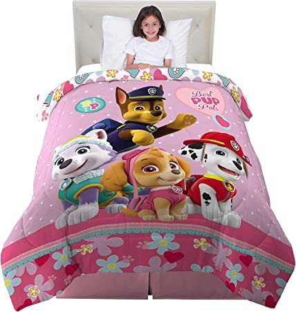 Ropa de cama para ni/ños Paw Patrol Kinderbettw/äsche Bincheria da letto per Bambini 100x135cm // 40x60cm BABY202004 Childrens Bedding Literie Enfant