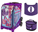 Zuca Sport Bag - Roller Girl with Gift Lunchbox and Seat Cover